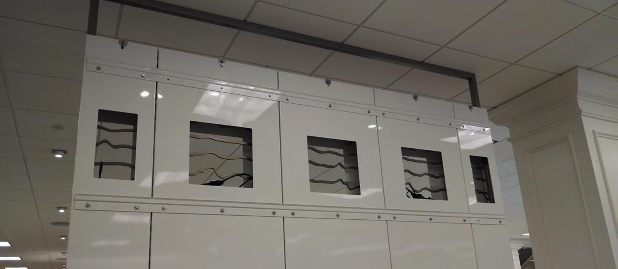 retail industry store installation, signage, brand identity, VDI